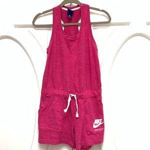 Nike Romper Vintage S Pink Shorts Racerback